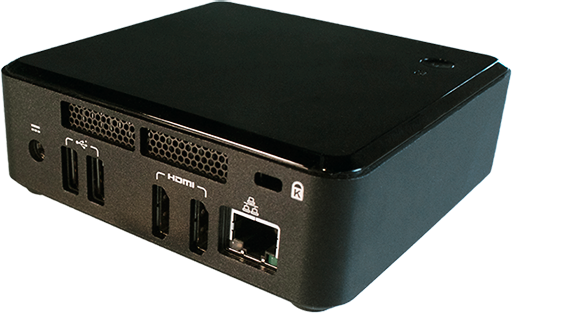 Digital Signage Player PC Intel NUC Next unit of computing