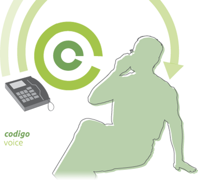Codigo voice allows your business to deliver marketing messages to customers while waiting on hold