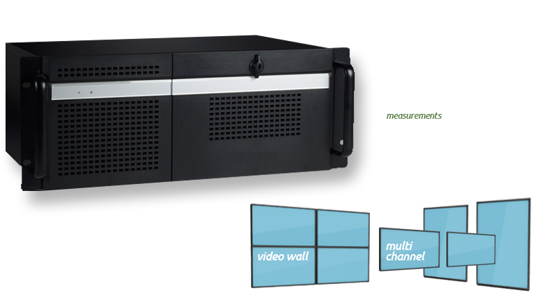 Digital Signage Rackmounted PC