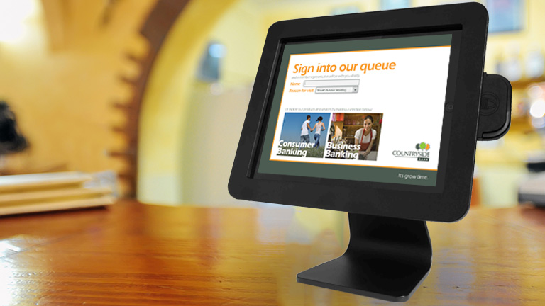 Digital Queue management with Codigo's interactive kiosk