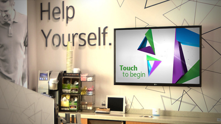 Create a unique experience with an interactive kiosk in your retail environment