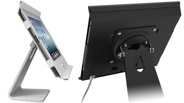 Many enclosure options for Codigo's tablet kiosk