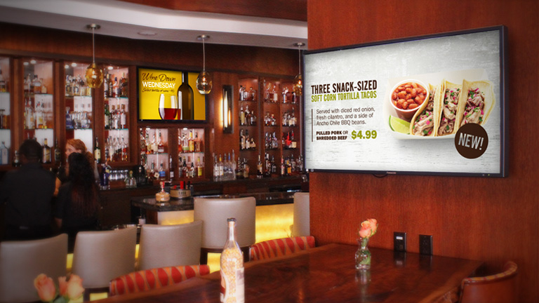 Retail Digital Signage Media Design and Animation