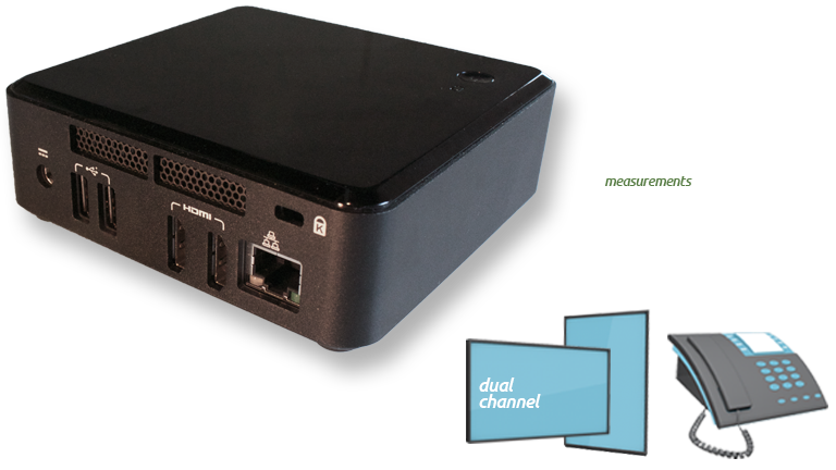 On-Hold Messaging Voice Hardware NUC
