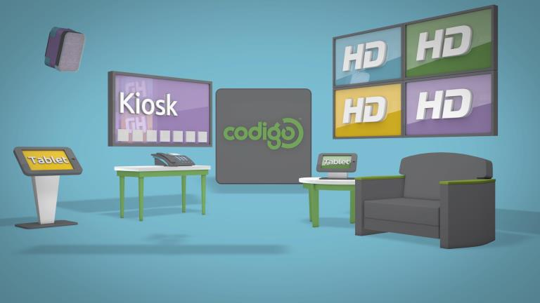 Retail digital signage software from Codigo